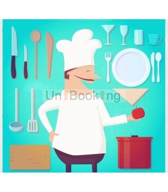 La cuchara a domicilio: compra y comida
