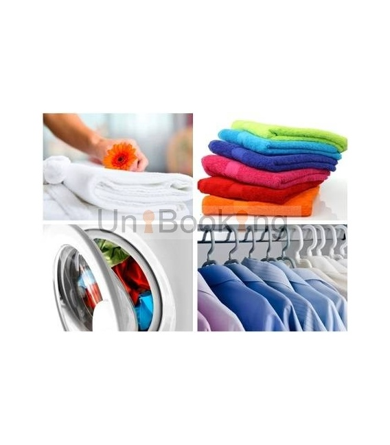 Inhouse dry cleaners: washing & ironing
